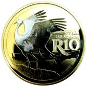 10 Rand (Blue Crane - colourized) – reverse