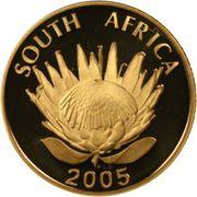 5 Rand / 1/10 Ounce (Albert John Luthuli) -  obverse