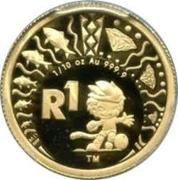 1 Rand (FIFA World Cup, 2010) – reverse