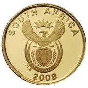 1 Rand (FIFA World Cup, 2010) – obverse