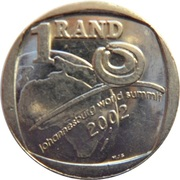 1 Rand (World Summit) – reverse