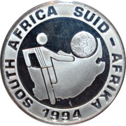 2 Rand (World Cup Soccer) -  obverse