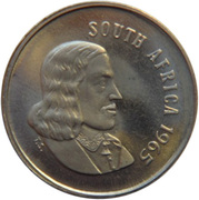 5 Cents (English Legend - SOUTH AFRICA) -  obverse
