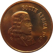 1 Cent (English Legend - SOUTH AFRICA) -  obverse