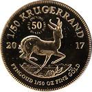 1/50 Ounce Krugerrand – reverse