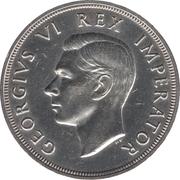 5 Shillings - George VI (5 Shillings, IMPERATOR) – obverse
