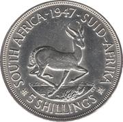 5 Shillings - George VI (5 Shillings, IMPERATOR) – reverse