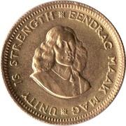 1 Rand Gold (1st & 2nd decimal series) -  obverse