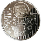 5 Rand (Grass Crinum - colourized) – obverse