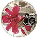 5 Rand (Grass Crinum - colourized) – reverse