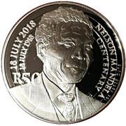 50 Rand (Nelson Mandela - The Statesman) – reverse