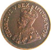 ½ Penny - George V (½ Penny ½) – obverse