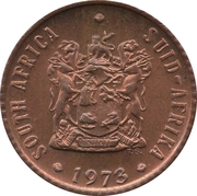 ½ Cent (SOUTH AFRICA - SUID-AFRIKA) -  obverse