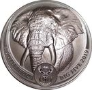 5 Rand (The Big Five - African Elephant) – reverse