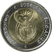 5 Rand (Afrika Borwa - Suid-Afrika) – obverse