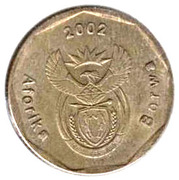 50 Cents (Cricket; Tswana Legend - Aforika Borwa) -  obverse