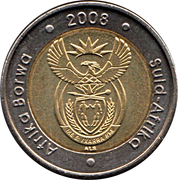 5 Rand (Nelson Mandela 90th Birthday) -  obverse