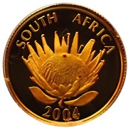 5 Rand / 1/10 Ounce (Ten Year Anniversary of a Democratic South Africa) – obverse