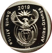 2 Rand (Freedom of Religion, Belief and Opinion) – obverse