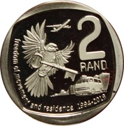 2 Rand (Freedom of Movement and Residence) – reverse