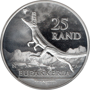 25 Rand (Euparkeria) – reverse