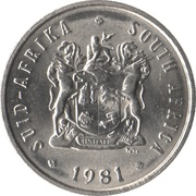 5 Cents (SUID-AFRIKA - SOUTH AFRICA) -  obverse