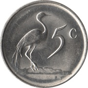 5 Cents (SUID-AFRIKA - SOUTH AFRICA) -  reverse