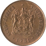 1 Cent (SUID-AFRIKA - SOUTH AFRICA) -  obverse