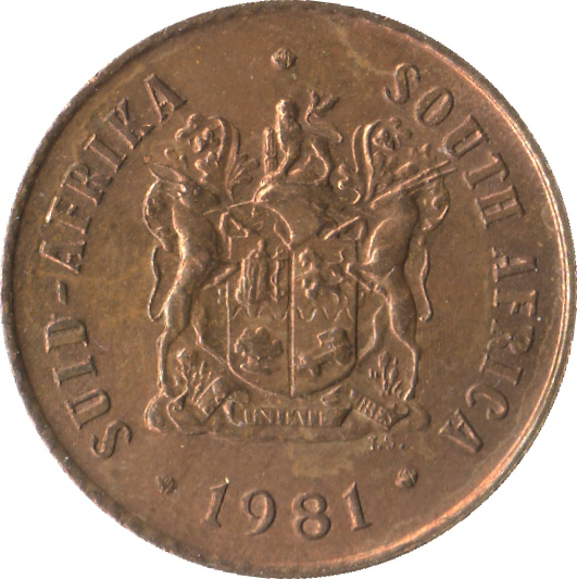 1 Cent (SUID-AFRIKA - SOUTH AFRICA) - South Africa – Numista