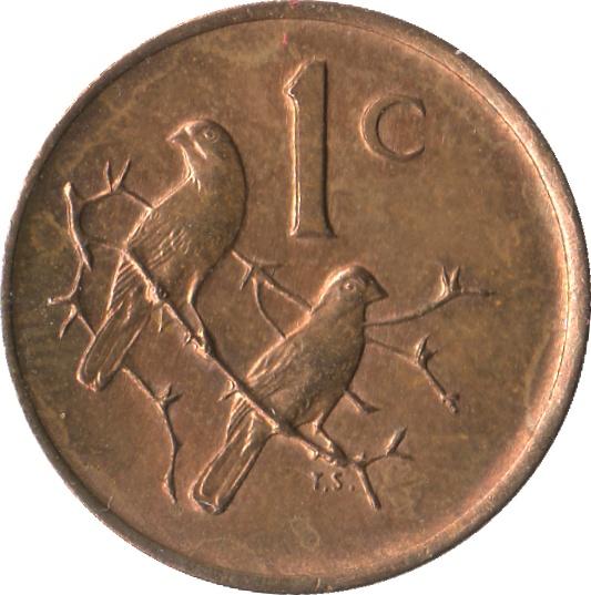 1 Cent SUID AFRIKA
