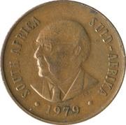 2 Cents (Nicolaas J. Diederichs) -  obverse