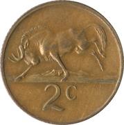 2 Cents (Nicolaas J. Diederichs) -  reverse