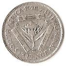 3 Pence - George V (ZUID-AFRIKA 3 PENCE) – reverse