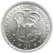 2 Shillings - George VI (2S) -  reverse
