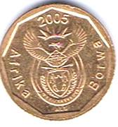10 Cents (Sepedi/Sesotho Legend - Afrika Borwa) -  obverse