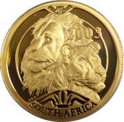 20 Rand - 1/4 Ounce (Natura - Lion) – obverse