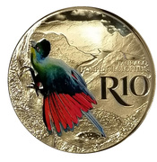 10 Rand (Purple-creasted Turaco - Colourized) – reverse