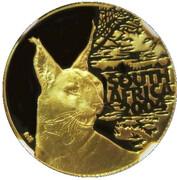 10 Rand (Natura - Caracal) – obverse