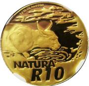 10 Rand (Natura - Caracal) – reverse