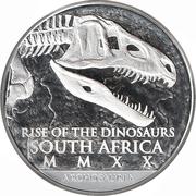 25 Rand (Coelophysis) – obverse