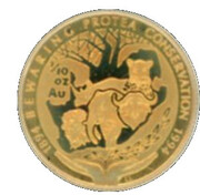 1/10 Ounce (Conservation Centenary) – reverse