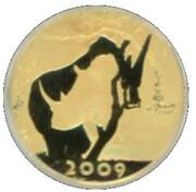 1/10 Ounce / R10 (Natura - White Rhino) – obverse