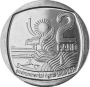 2 Rand (Environmental rights) – reverse