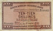 10 Shillings (English - Afrikaans) – obverse