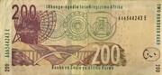 200 Rand – reverse