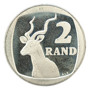 2 Rand (SUID-AFRIKA - SOUTH AFRICA) -  reverse