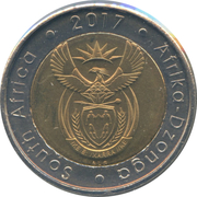 5 Rand (Order of Companions of O.R. Tambo) – obverse