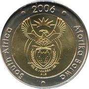5 Rand (South Africa - Aforika Borwa) – obverse