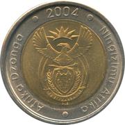 5 Rand (Afrika Dzonga - Ningizimu Afrika) – obverse