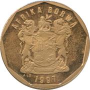 50 Cents (Sesotho Legend - AFRIKA BORWA) -  obverse